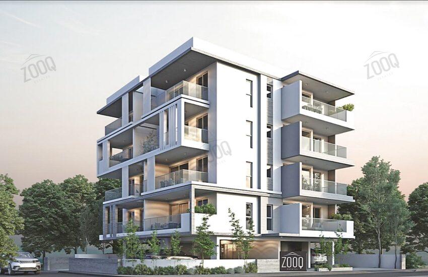 1 bed apartment sale agios dometios 3