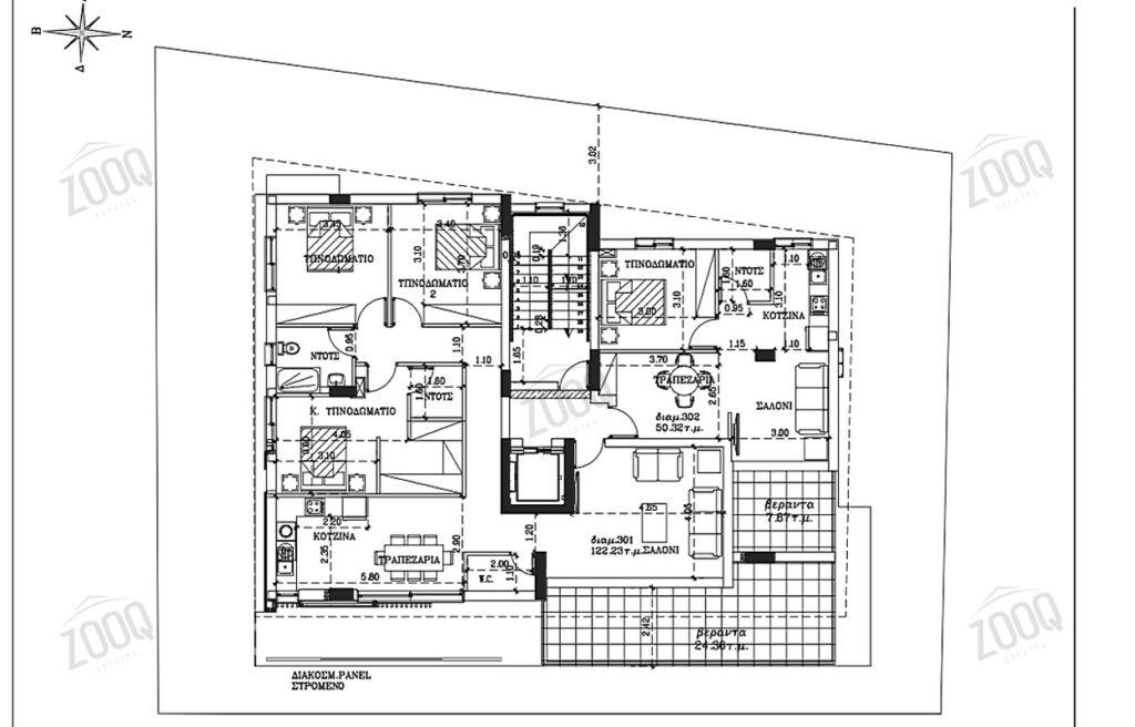 1 bed modern apartment sale latsia 4
