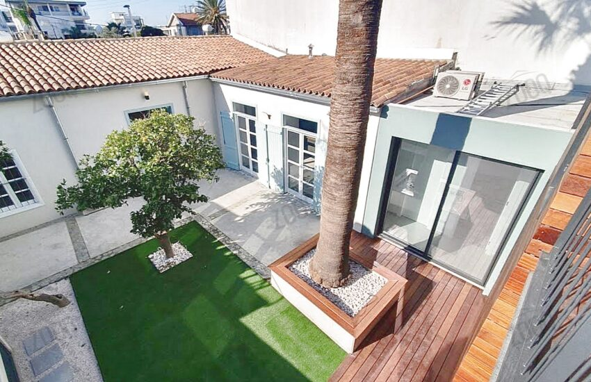 4 bed house for rent agios dometios 1