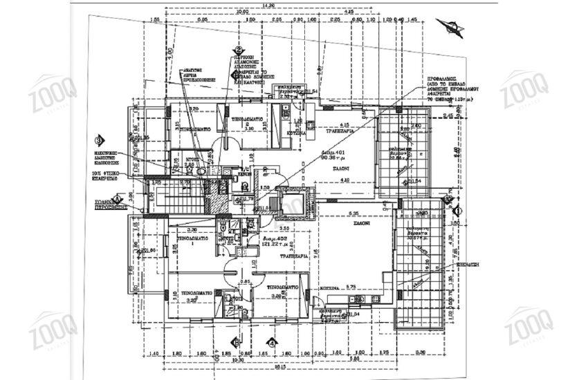 3 bed luxury apartment nicosia city centre 1