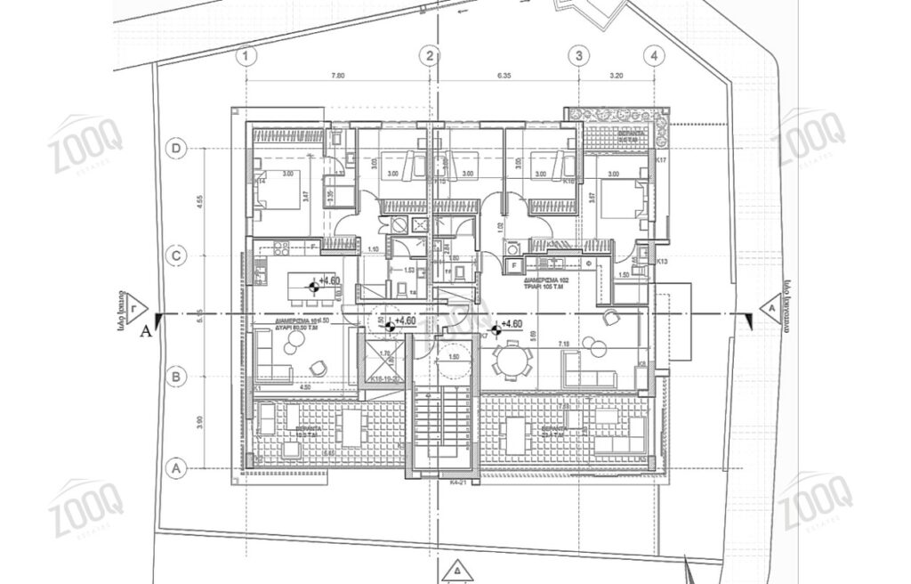 3 bed modern apartment for sale aglantzia 4