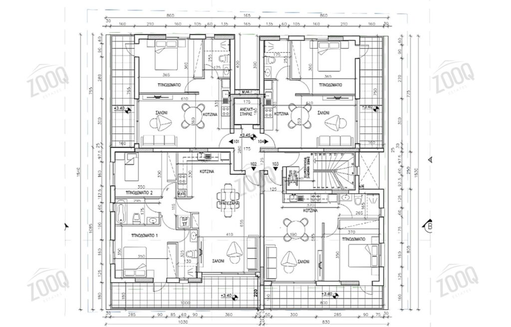 1 bed apartment for sale in aglantzia, nicosia cyprus 2