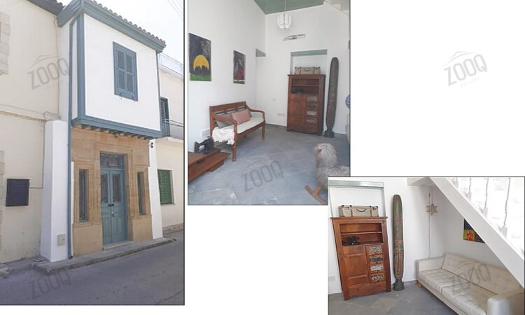 2 bed house for rent in old walls of nicosia 1