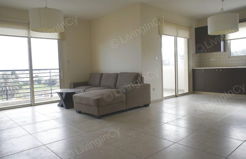 Furnished 2 bed aprt for rent aglantzia 3