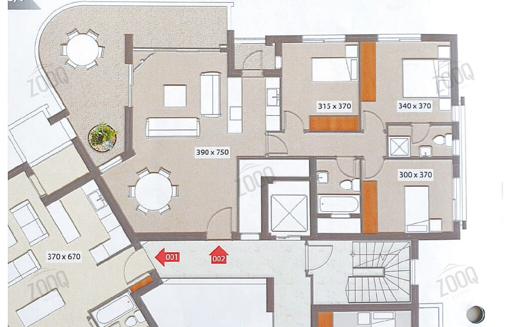 Three bed apartment for rent in acropolis, nicosia cyprus 17