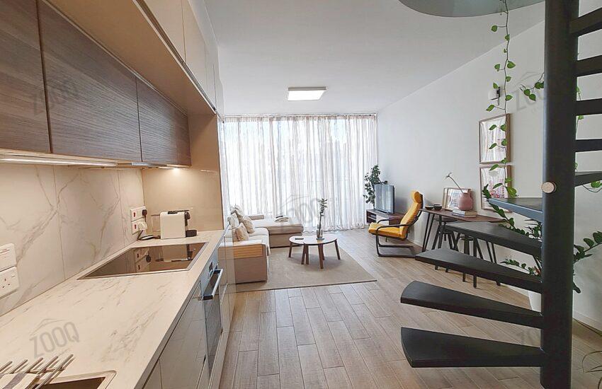1 bedroom maisonette flat for sale in aglantzia, nicosia cyprus 2